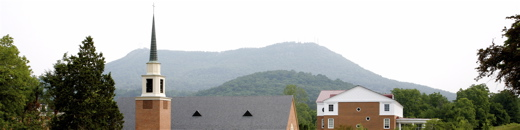 Dupont Chapel and Tinker Mountain